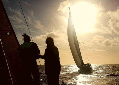 Navegar en flotilla CAP