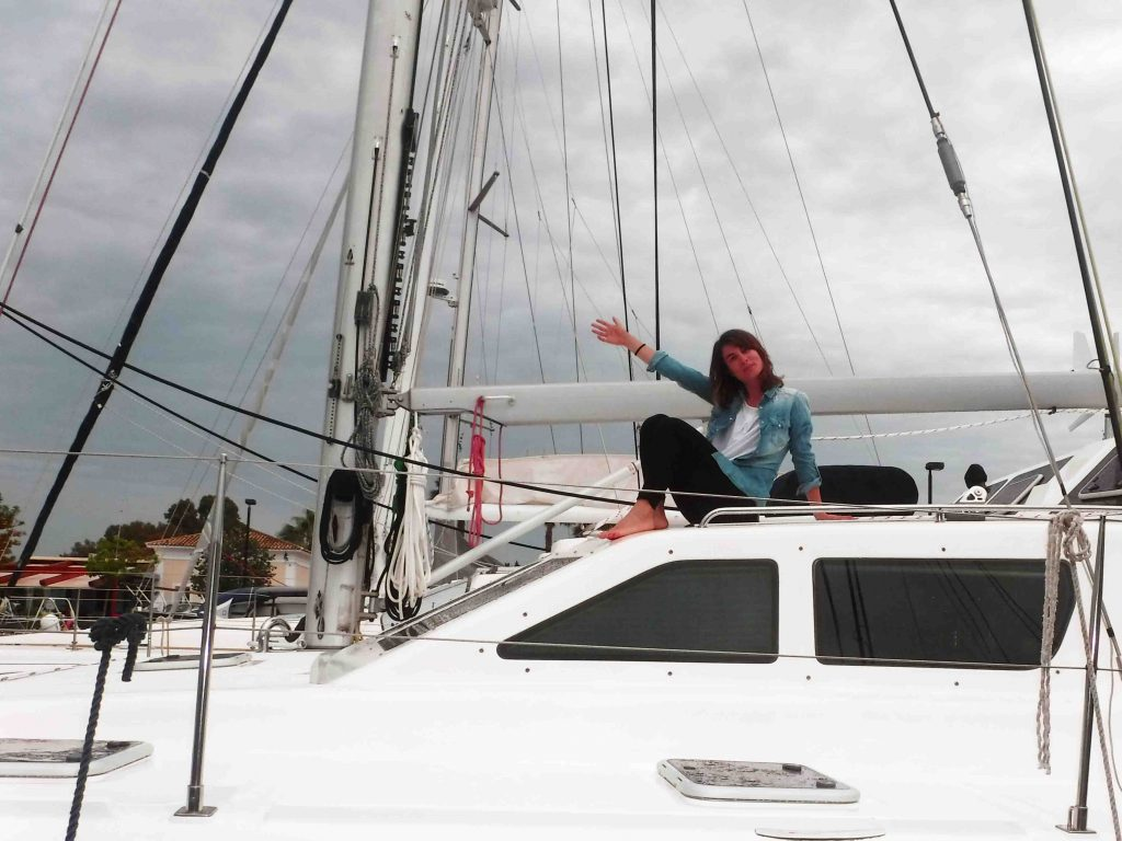 Allende los mares en catamaran