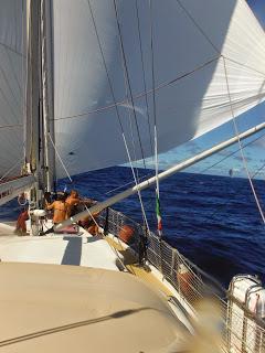 Cruzar el Atlántico en velero