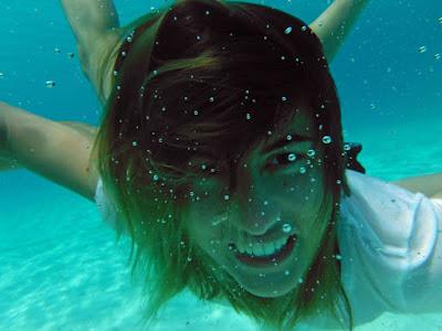 Fotografía bajo el agua en primer plano