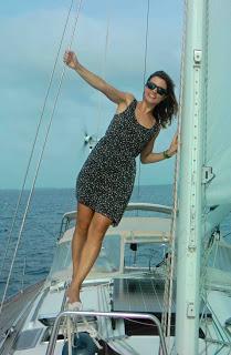Fotografía en San Blas a bordo de un velero
