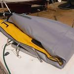 Imagen del kayak plegado por la mitad