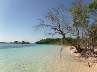 Imagen de una playa de aguas cristalinas