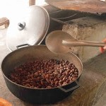 Foto de los granos acabos de tostar