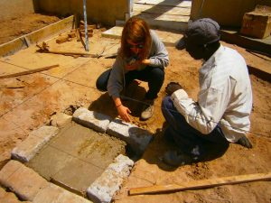 Arquitecta voluntaria en Senegal