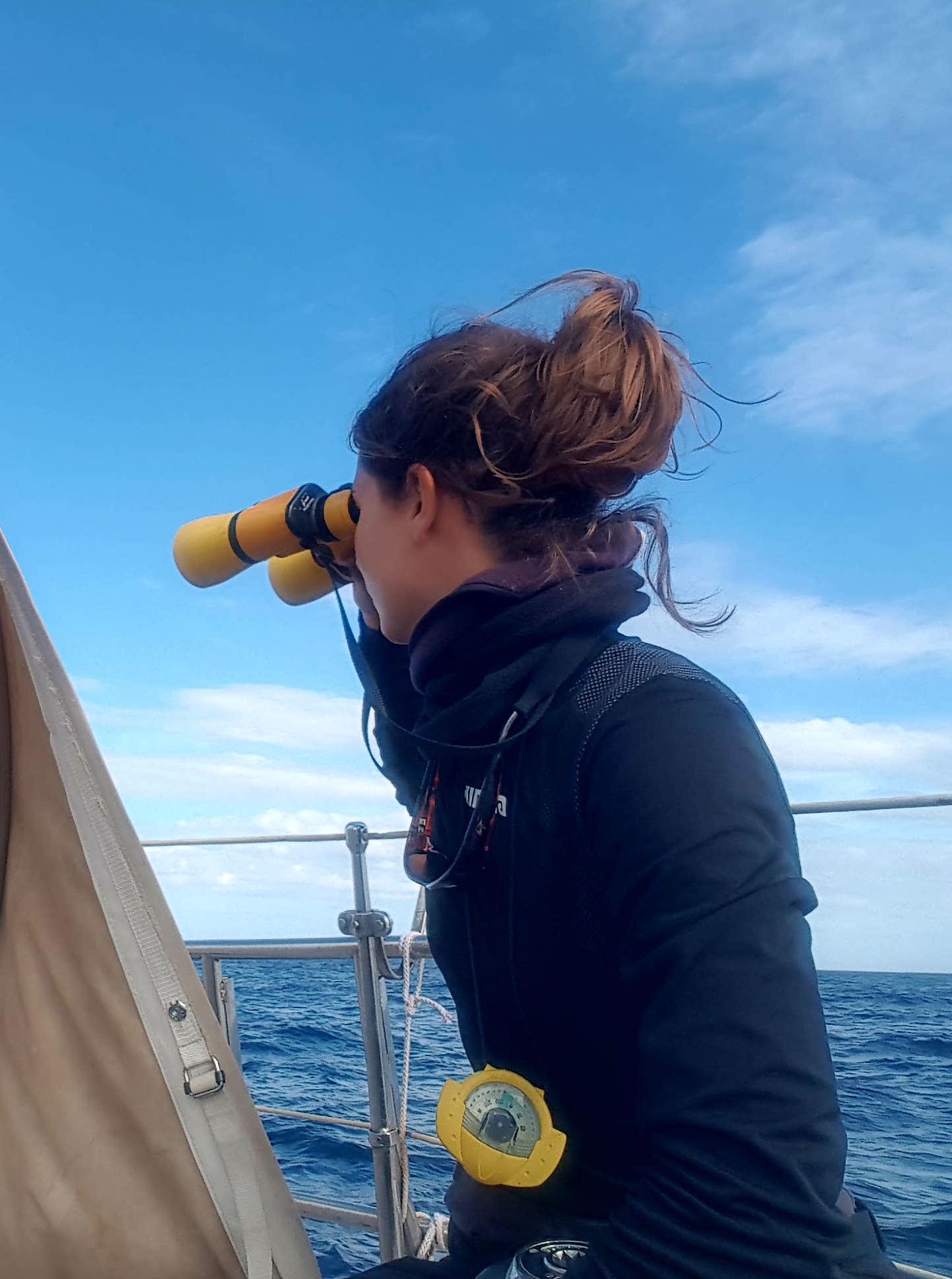 Paula Capitana Allende los mares