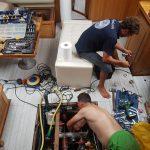 Reparaciones alta mar