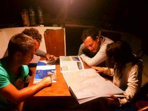 Navegar cartas náuticas