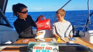 Botiquin primeros auxilios velero
