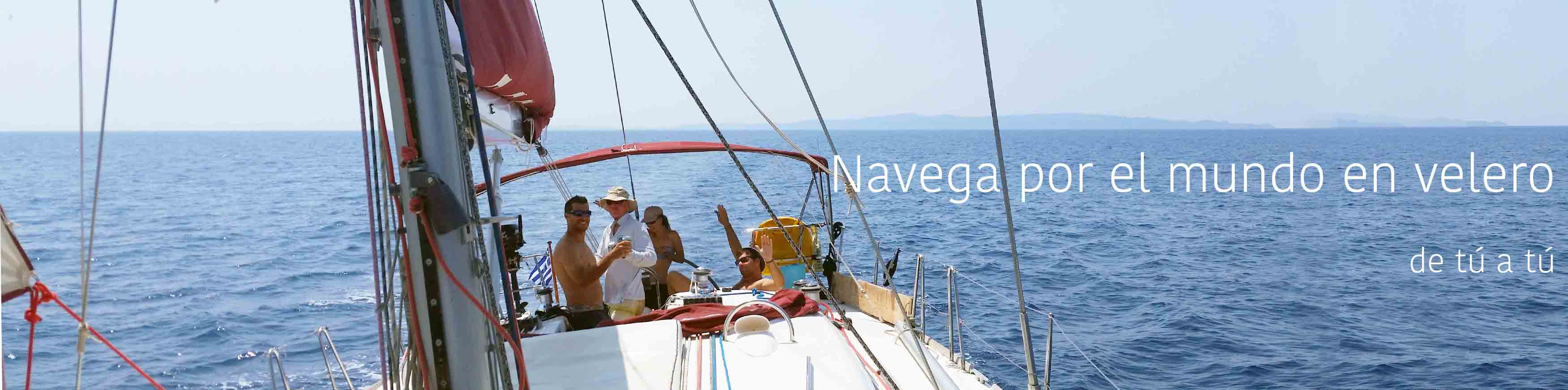 Navegando por el mundo a bordo de un velero