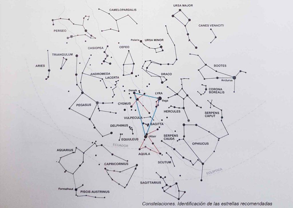 Constelaciones estrellas CAP