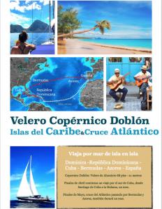 Copérnico Doblón, Caribe&Cruce del Atlántico en velero