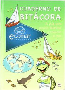 Cuaderno de bitacora-Ecomar-Libro-Nautica-Niños