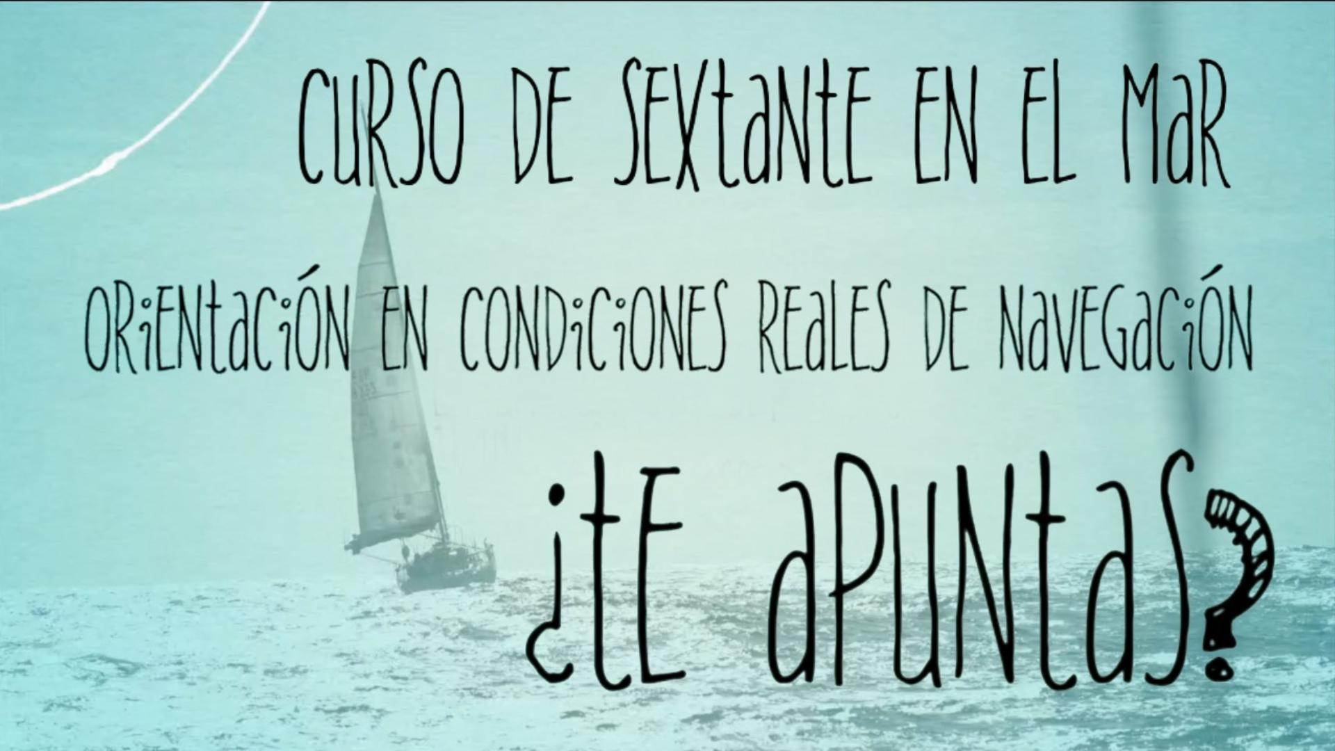Curso sextante Petrel Oceanic Sailing&Allende los mares