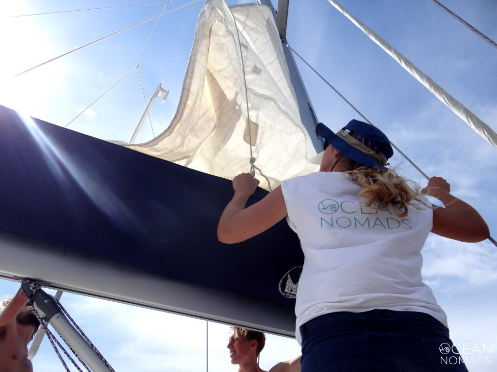 Izar-Arriar vela, navegar, check in Oceanpreneur