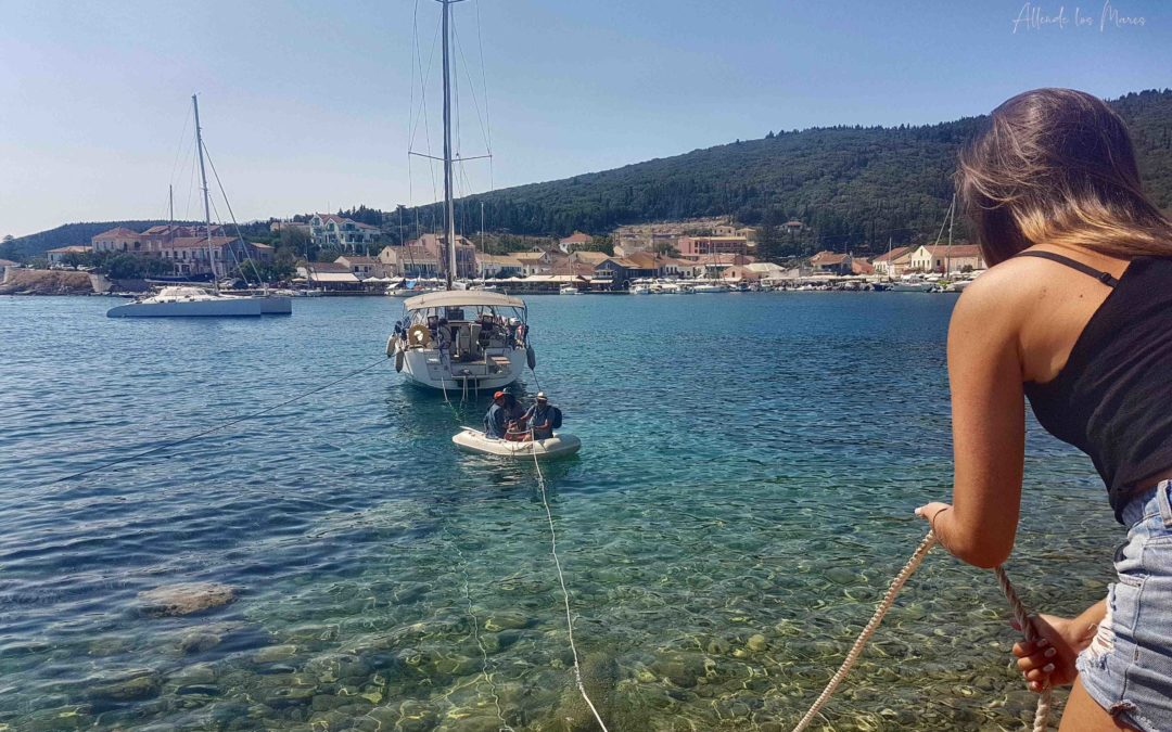 GUÍA RÁPIDA: Motor fuera borda dinghy