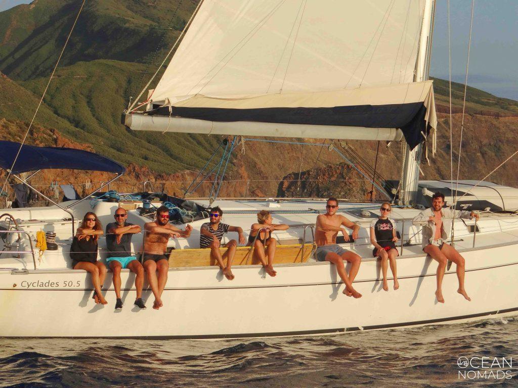 Tripulacion velero verano