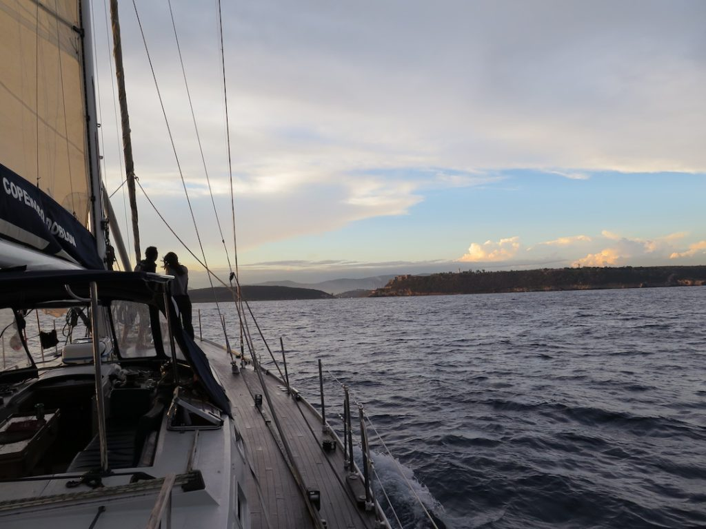 Navegar velero Copérnico Doblón