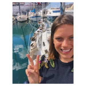 Joana Sailing Tangaroa