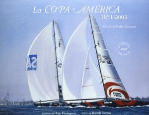 La Copa America-Libro-Nautico-Mar-Regata