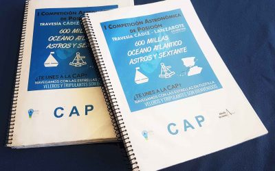 A 1 día de zarpar, reglas del juego. Cuaderno de bitácora CAP