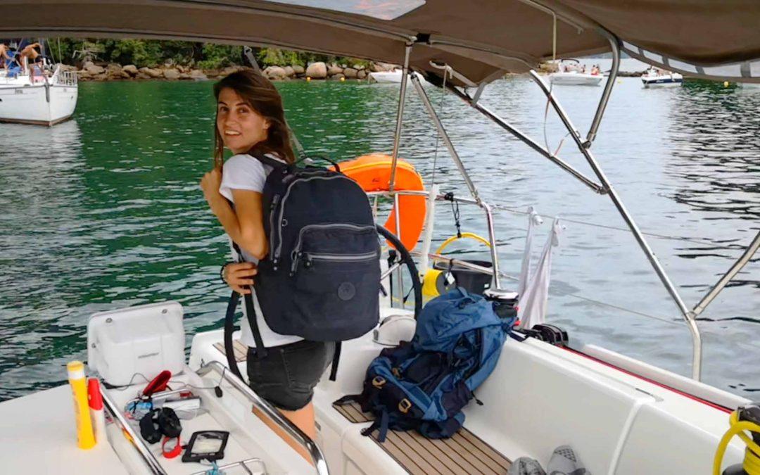 Qué llevar en la maleta 7 días en un velero, verano