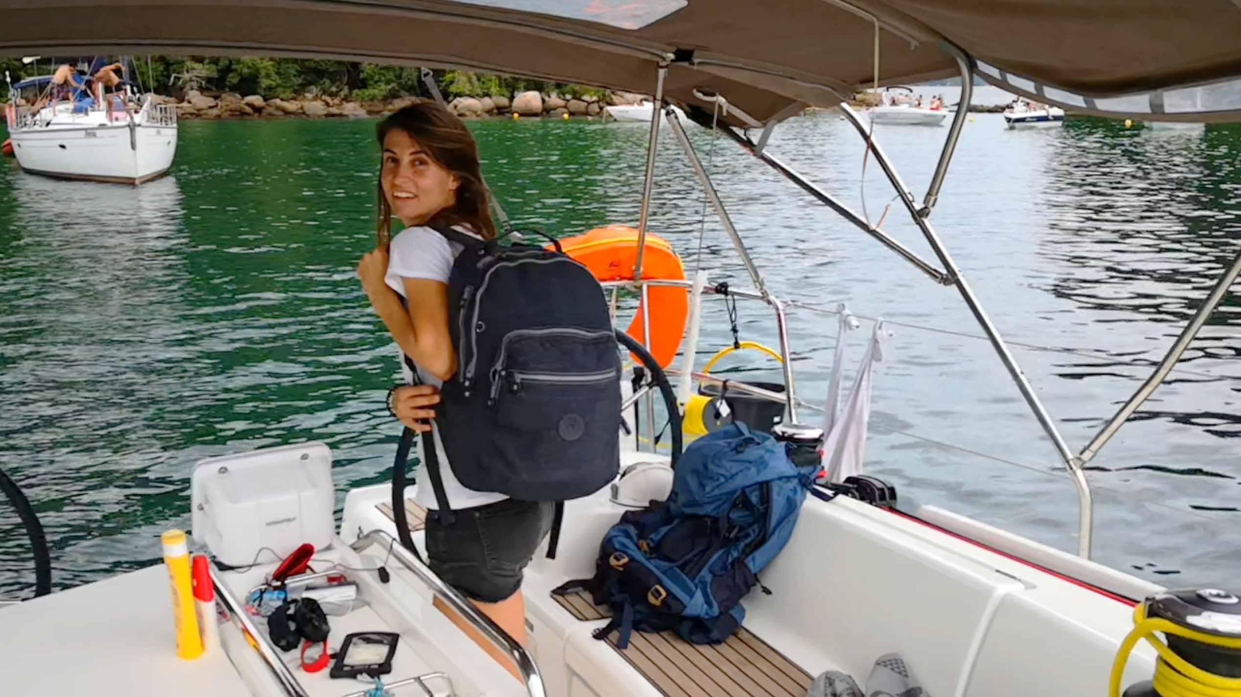 Maleta velero verano