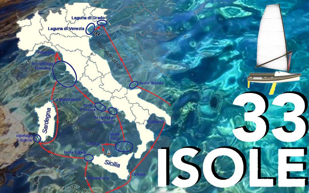 Viaje en solitario de Ustica a Venecia, Italia – 33 Isole