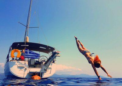 Saltar del velero