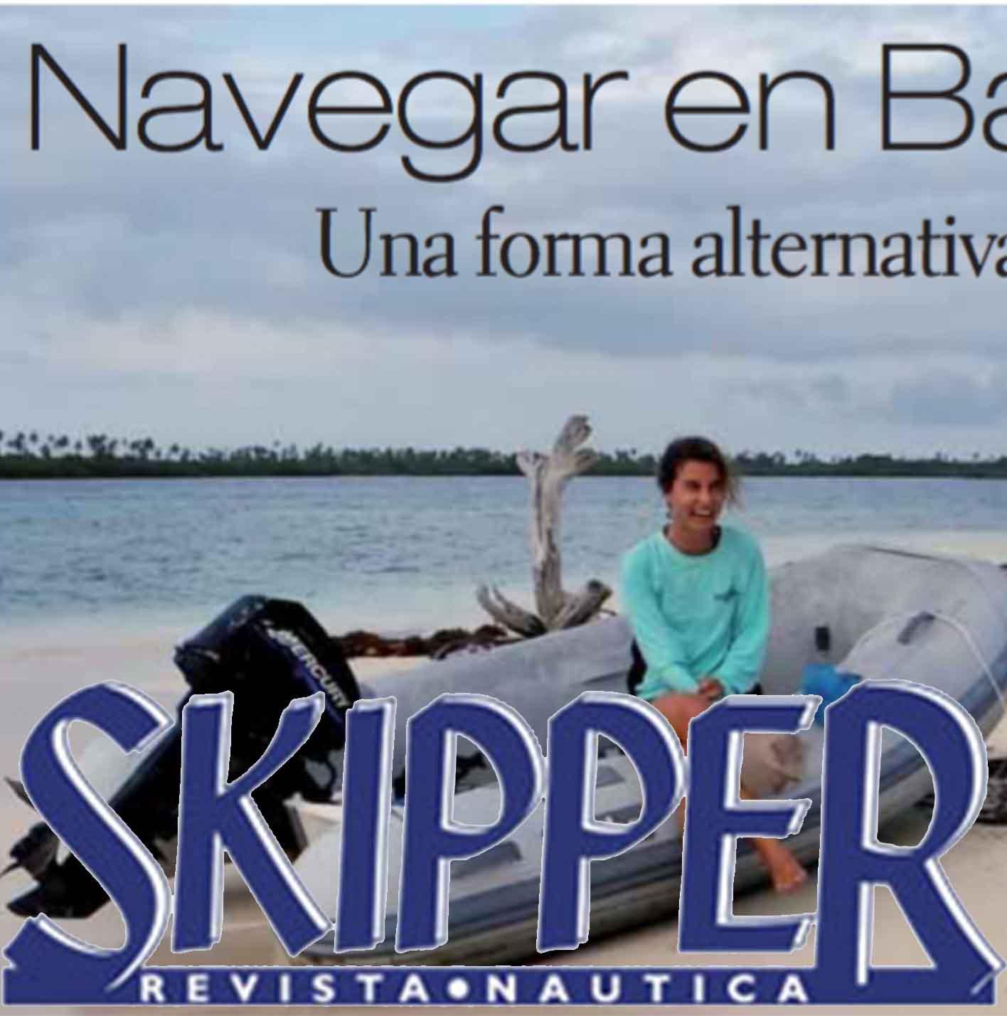 Skipper entrevista a Allende los mares