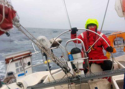 Traje agua o navegación